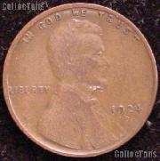 1924-D Wheat Penny Lincoln Wheat Cent Circulated G-4 or Better RARE DATE