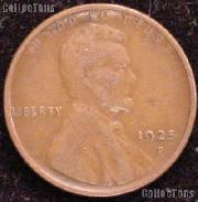 1925-D Wheat Penny Lincoln Wheat Cent Circulated G-4 or Better