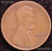 1926-D Wheat Penny Lincoln Wheat Cent Circulated G-4 or Better