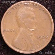 1926-S Wheat Penny Lincoln Wheat Cent Circulated G-4 or Better