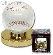Baseball Display by BCW Gold Base Baseball Holder