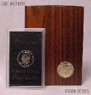 1972-S BROWN IKE SILVER DOLLAR * Proof in Box