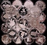90% Silver Dollar Modern Commemorative BU or Proof Mixed Pick