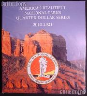 Lighthouse America's Beautiful National Parks Quarter Series Folder