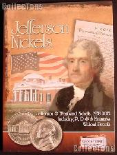 Jefferson Nickels Album by Cornerstone Jefferson & Westward Nickels P D & S