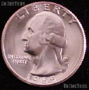 1965 SMS Washington Quarter Gem BU Brilliant Uncirculated Special Mint Set