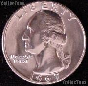 1967 Washington Quarter Gem BU (Brilliant Uncirculated)
