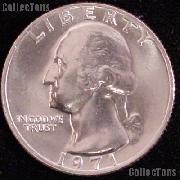 1971 Washington Quarter Gem BU (Brilliant Uncirculated)