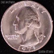 1971-D Washington Quarter Gem BU (Brilliant Uncirculated)