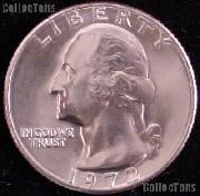 1972 Washington Quarter Gem BU (Brilliant Uncirculated)