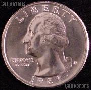 1989-D Washington Quarter Gem BU (Brilliant Uncirculated)