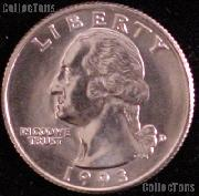 1993-D Washington Quarter Gem BU (Brilliant Uncirculated)