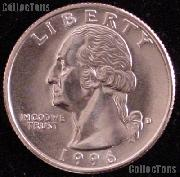 1996-D Washington Quarter Gem BU (Brilliant Uncirculated)