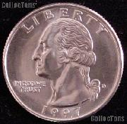 1997-D Washington Quarter Gem BU (Brilliant Uncirculated)