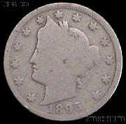 1895 Liberty Head V Nickel G-4 or Better