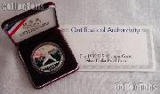 1992-S U.S. Olympic Baseball Commemorative Proof Silver Dollar