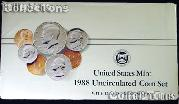 1988 U.S. Mint Uncirculated Set - 10 Coins