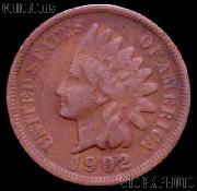 1902 Indian Head Cent Variety 3 Bronze G-4 or Better Indian Penny