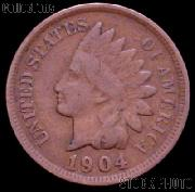 1904 Indian Head Cent Variety 3 Bronze G-4 or Better Indian Penny