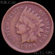 1905 Indian Head Cent Variety 3 Bronze G-4 or Better Indian Penny