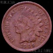 1909 Indian Head Cent Variety 3 Bronze G-4 or Better Indian Penny