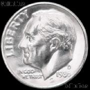 1986-D Roosevelt Dime Gem BU (Brilliant Uncirculated)