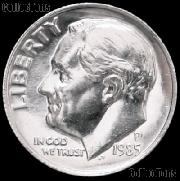 1985-P Roosevelt Dime Gem BU (Brilliant Uncirculated)