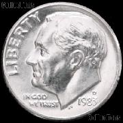 1983-D Roosevelt Dime Gem BU (Brilliant Uncirculated)