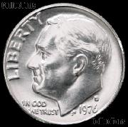 1976-D Roosevelt Dime Gem BU (Brilliant Uncirculated)