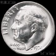 1974 Roosevelt Dime Gem BU (Brilliant Uncirculated)