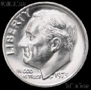1973 Roosevelt Dime Gem BU (Brilliant Uncirculated)