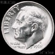 1968-D Roosevelt Dime Gem BU (Brilliant Uncirculated)