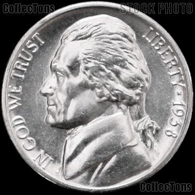1938-S Jefferson Nickel Gem BU (Brilliant Uncirculated)
