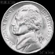 1939 Jefferson Nickel Gem BU (Brilliant Uncirculated)
