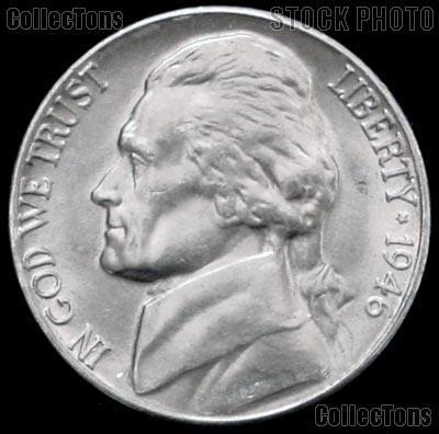 1946-S Jefferson Nickel Gem BU (Brilliant Uncirculated)