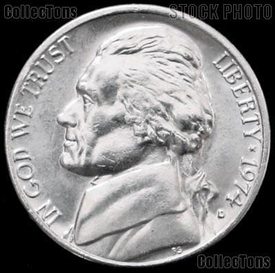 1974-D Jefferson Nickel Gem BU (Brilliant Uncirculated)