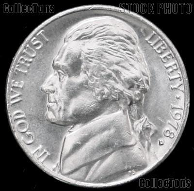 1978-D Jefferson Nickel Gem BU (Brilliant Uncirculated)
