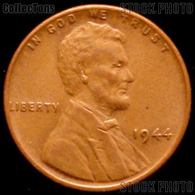 1944 Wheat Penny Lincoln Wheat Cent Circulated G-4 or Better