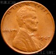 1947 Wheat Penny Lincoln Wheat Cent Circulated G-4 or Better