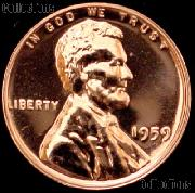 1959 Lincoln Memorial Penny Lincoln Cent Gem PROOF RED Penny