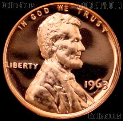 1963 P  Gem PROOF  Lincoln Memorial  Cent  Great Coin  Free  Shipping