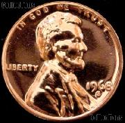1968-S Lincoln Memorial Penny Lincoln Cent Gem PROOF RED Penny
