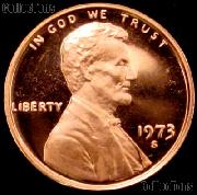 1973-S Lincoln Memorial Penny Lincoln Cent Gem PROOF RED Penny