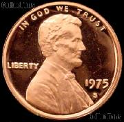 1975-S Lincoln Memorial Penny Lincoln Cent Gem PROOF RED Penny