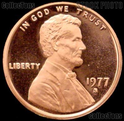 1977-S Lincoln Memorial Penny Lincoln Cent Gem PROOF RED Penny