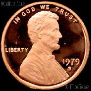 1979-S Type 1 Lincoln Memorial Penny Lincoln Cent Gem PROOF RED Penny