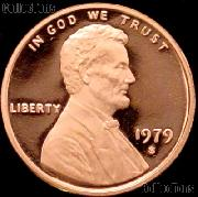 1979-S Type 2 Lincoln Memorial Penny Lincoln Cent Gem PROOF RED Penny