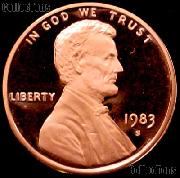1983-S Lincoln Memorial Penny Lincoln Cent Gem PROOF RED Penny