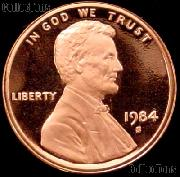 1984-S Lincoln Memorial Penny Lincoln Cent Gem PROOF RED Penny