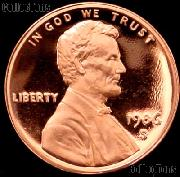 1986-S Lincoln Memorial Penny Lincoln Cent Gem PROOF RED Penny